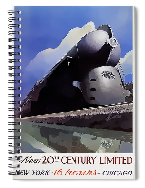 20th Century Limited Spiral Notebook