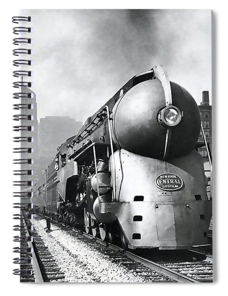 20th Century Limited Streamlined Train  1939 Spiral Notebook