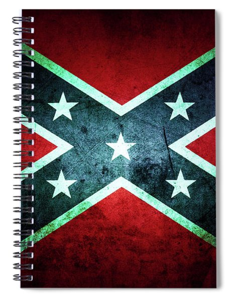 Confederate Flag 20 Spiral Notebook
