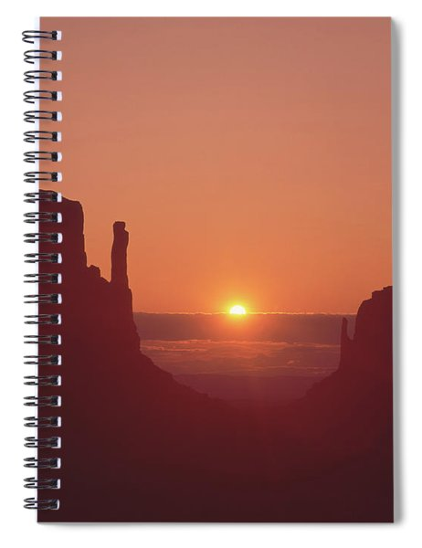 213101 Sunrise Monument Valley Az Ut Spiral Notebook