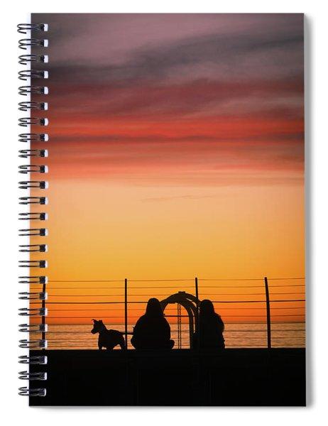 22nd St Sunset Spiral Notebook