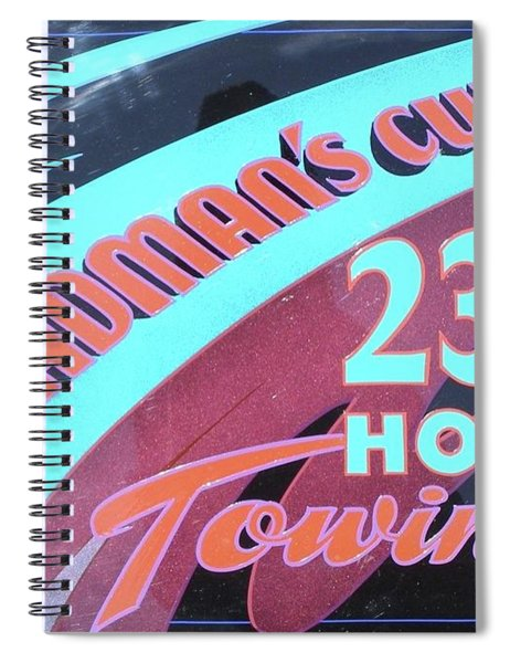 23 1/2 Hour Towing Spiral Notebook