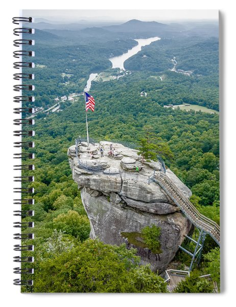 Lake Lure And Chimney Rock Landscapes Spiral Notebook