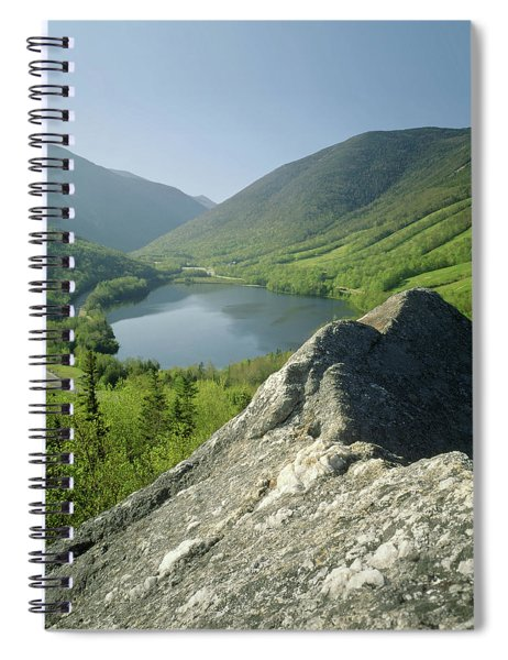 235601 Echo Lake Cannon Mountain Nh Spiral Notebook