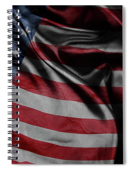 American Flag 20 Spiral Notebook