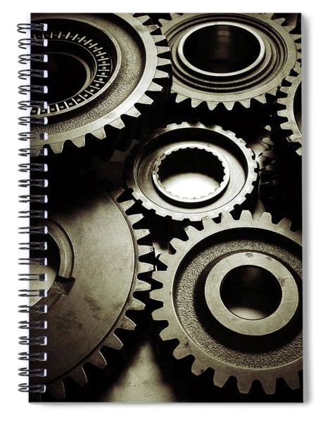 Cogs No6 Spiral Notebook