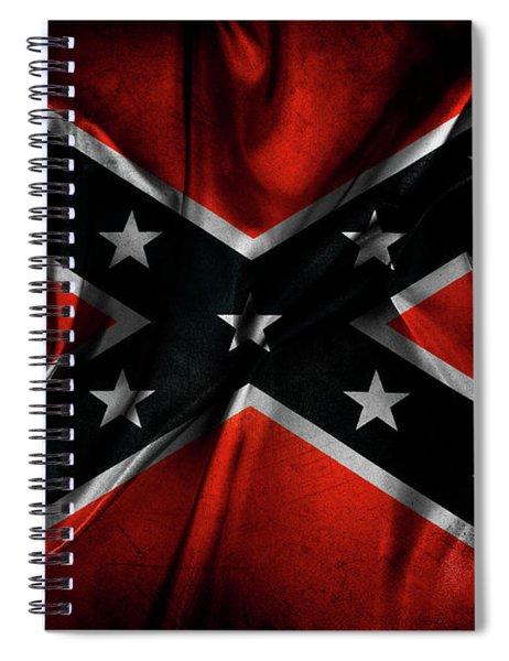 Confederate Flag 25 Spiral Notebook