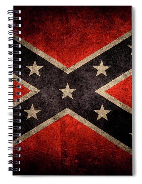 Confederate Flag 3 Spiral Notebook