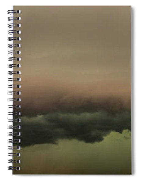 Spiral Notebook featuring the photograph 3rd Storm Chase Of 2015 by Dale Kaminski