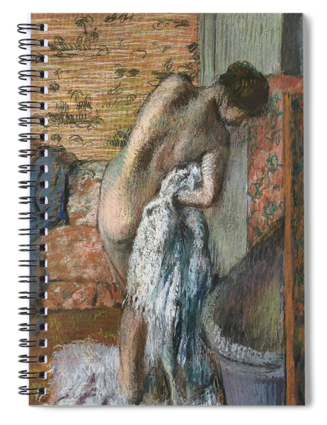 After The Bath Spiral Notebook