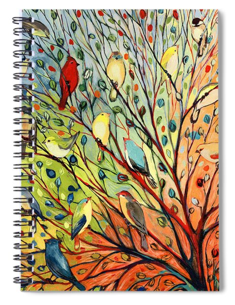 27 Birds Spiral Notebook