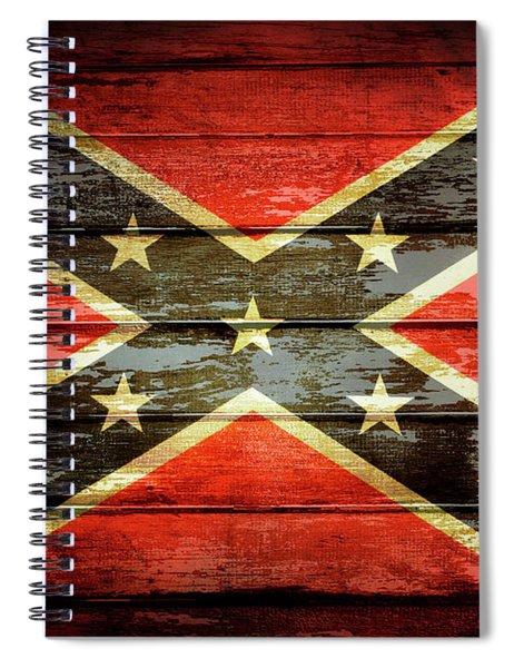 Confederate Flag 2 Spiral Notebook