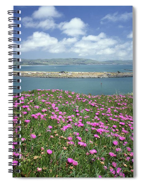 2a6106 Ice Plant Doran Beach Ca Spiral Notebook
