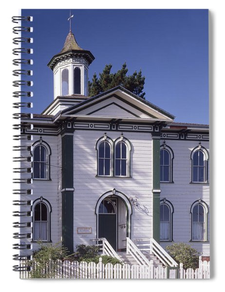 2a6135 Potter School Bodega Ca Spiral Notebook
