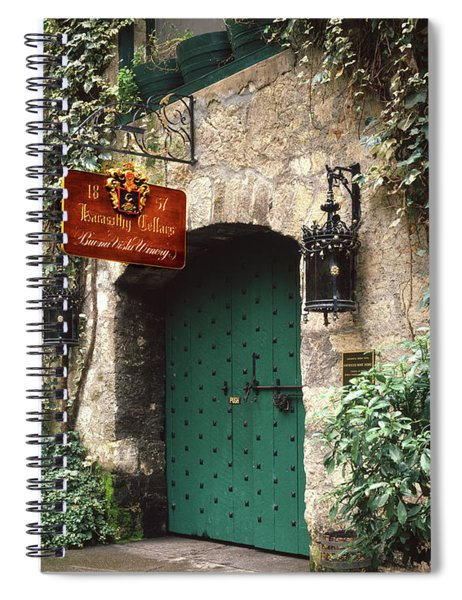 2b6343 Buena Vista Tasting Room Entrance Spiral Notebook