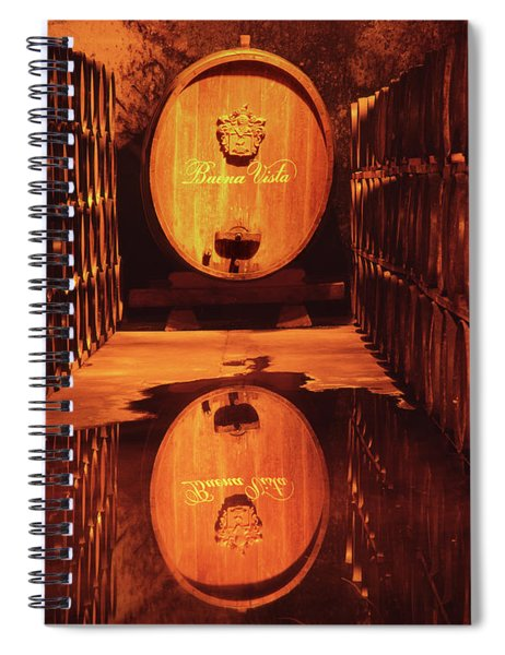 2b6344 Haraszthy Aging Cellars Reflect Spiral Notebook