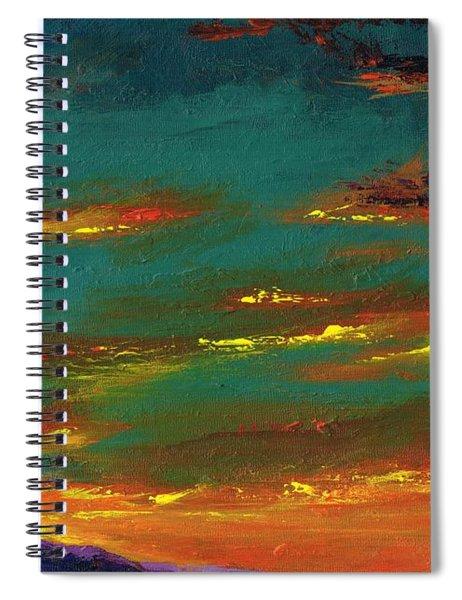 2nd In A Triptych Spiral Notebook