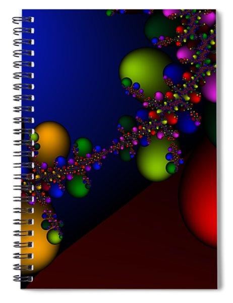 2x1 Abstract 330 Spiral Notebook
