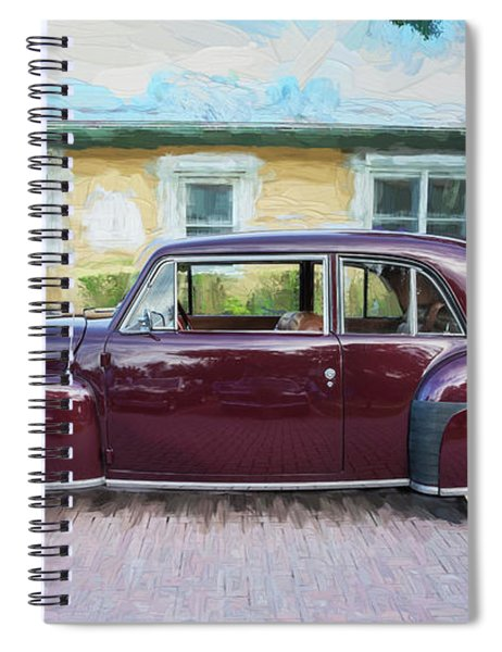 1947 Lincoln Continental Spiral Notebook