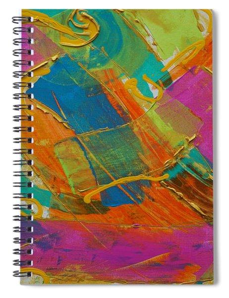 Silk Spiral Notebook