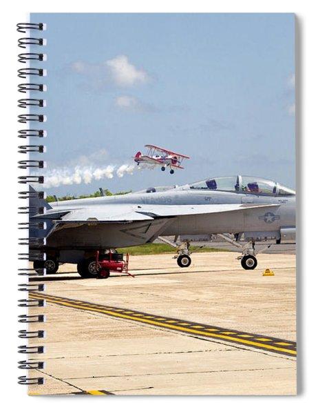 Airshow Spiral Notebook