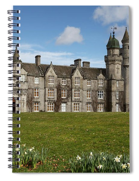 Balmoral Castle Spiral Notebook