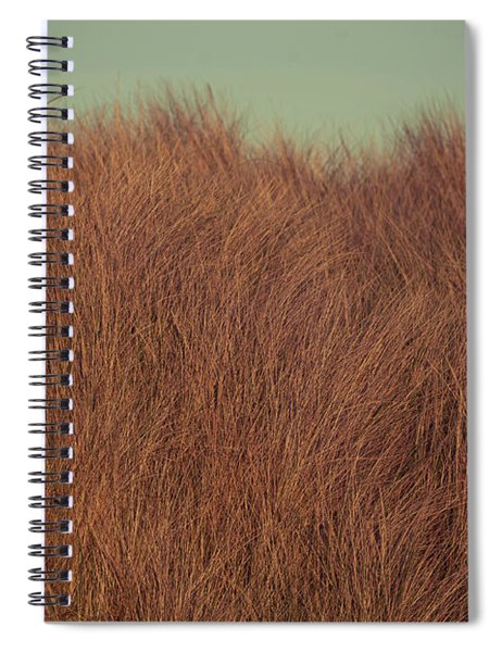 Beach Houses And Dunes Spiral Notebook