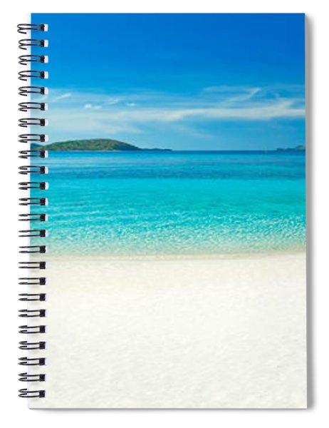 Beach Panorama Spiral Notebook