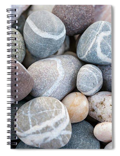 Beach Pebbles Spiral Notebook