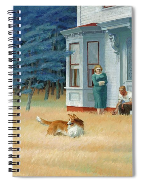 Cape Cod Evening Spiral Notebook