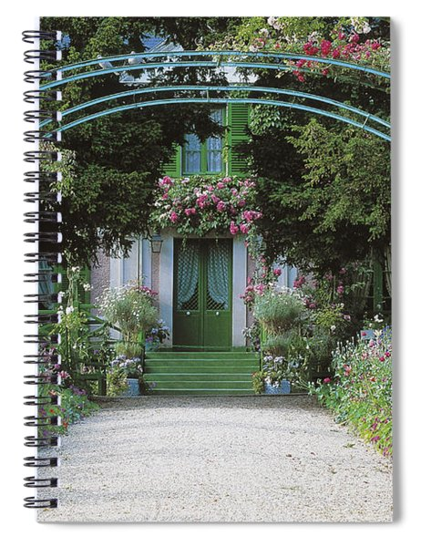 Claude Monet's Garden At Giverny Spiral Notebook