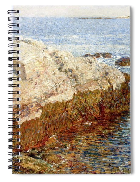 Cliff Rock - Appledore Spiral Notebook