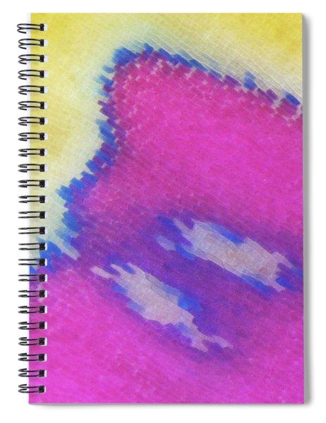 Color Transformation Of Persian Cyclamen Petal Spiral Notebook