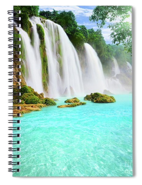 Detian Waterfall Spiral Notebook