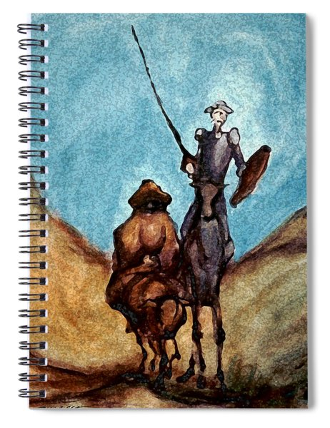Don Quixote  Spiral Notebook