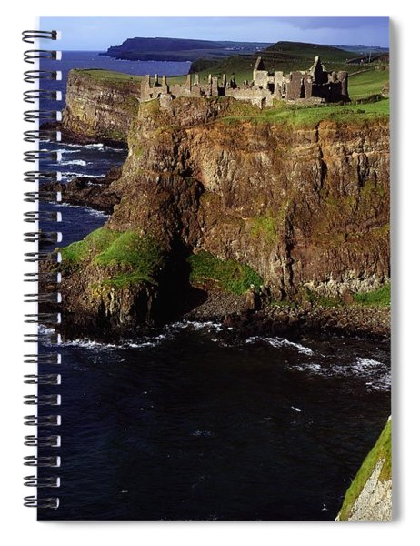 Dunluce Castle, Co. Antrim, Ireland Spiral Notebook