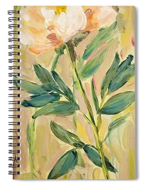3 Flowers Spiral Notebook