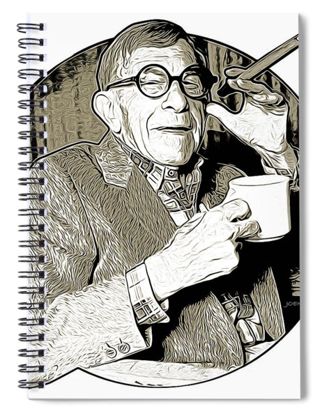 George Burns Spiral Notebook