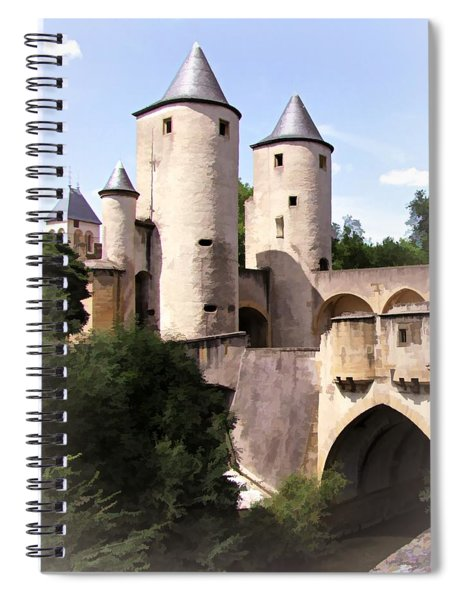 Germans Gate - Metz, France Spiral Notebook