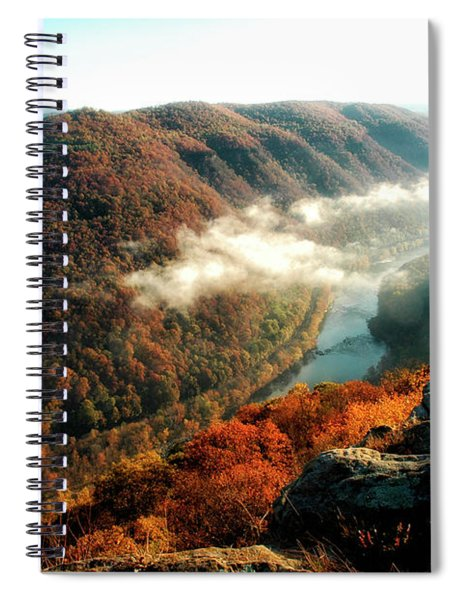 Grandview New River Gorge Spiral Notebook