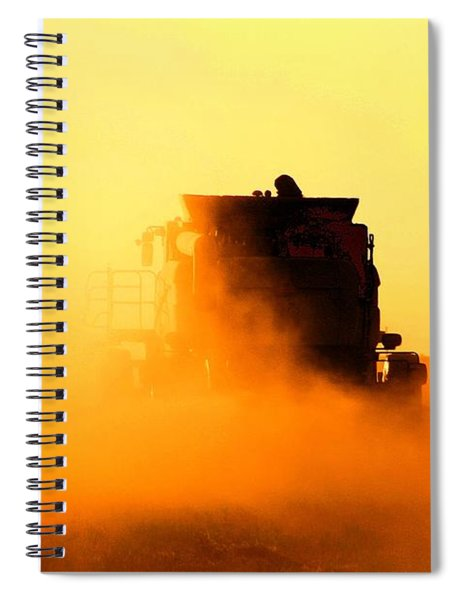 Harvest Sun Spiral Notebook