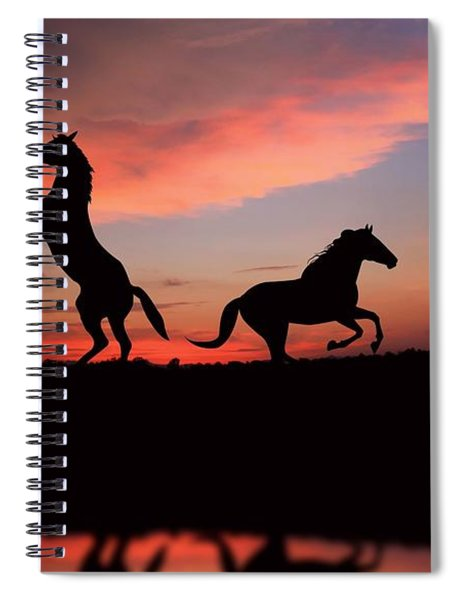 Horse Spiral Notebook