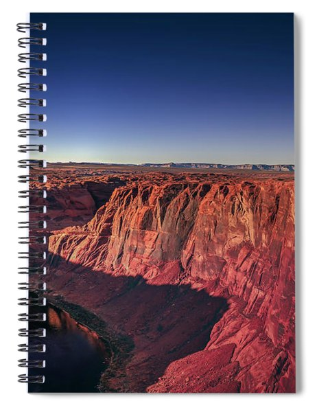 Horseshoe Band Spiral Notebook
