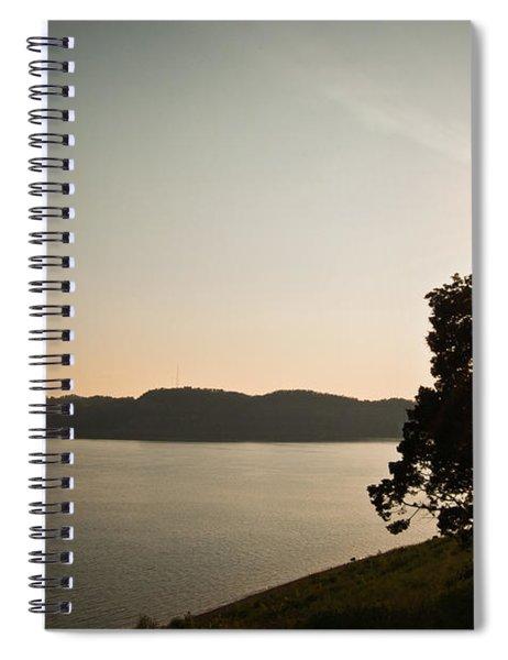Lake Cumberland Sunset Spiral Notebook