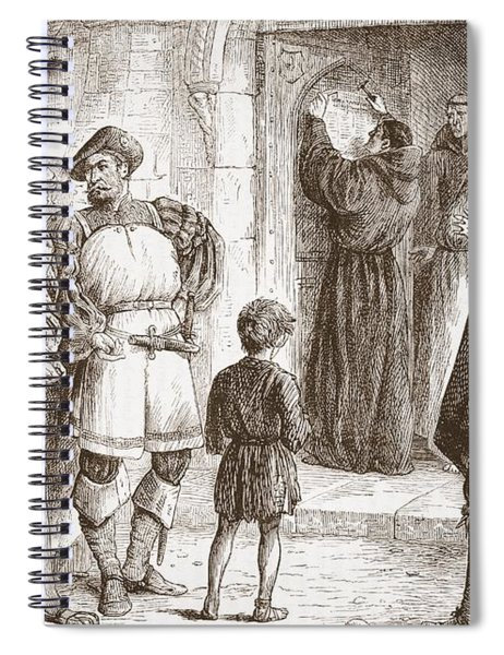 Martin Luther Spiral Notebook