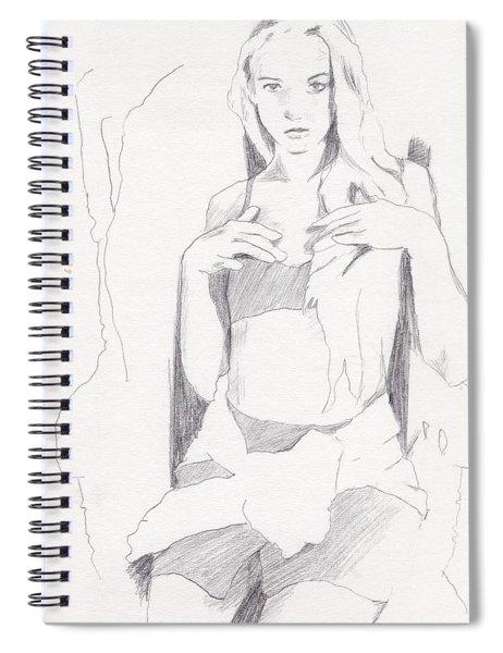 Missy - Sketch Spiral Notebook