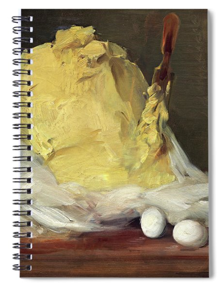 Mound Of Butter Spiral Notebook