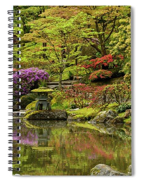 Peaceful Moment Spiral Notebook