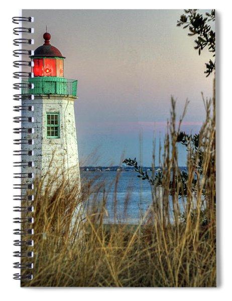 Old Point Comfort Light Spiral Notebook