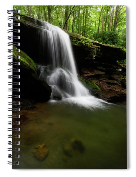 Otter Falls - Seven Devils, North Carolina Spiral Notebook